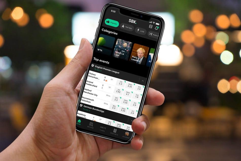 SBK mobile app